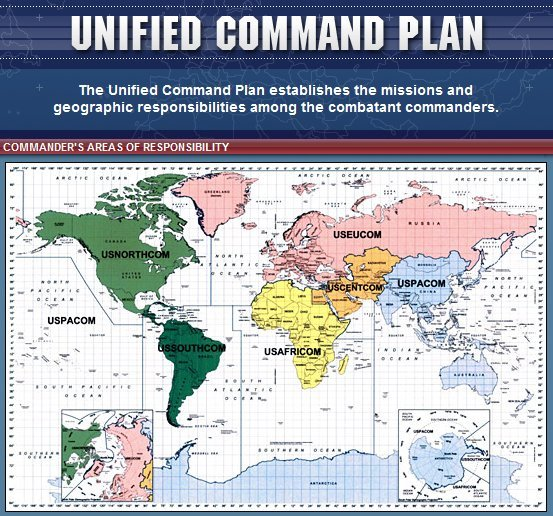 us northern command is the north american counterpart to africom northern command was stood up following september 11 2001 according to a congressional